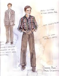 johnny boy paul narrator falcon theatre costume design by