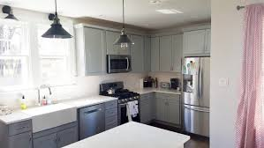 Gray Cabinets With White Countertops Gray Cabinets Are The New White Angie U0027s List