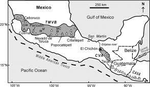 Guadalajara Mexico Map by The 26 May 1982 Breakout Flows Derived From Failure Of A Volcanic