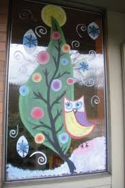 Christmas Window Decoration Crafts by Christmas Boughs 2 By Window Painting On Deviantart Christmas