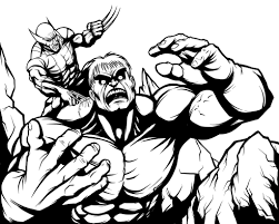 wolverine coloring pages 8 u2013 coloringpagehub