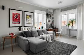 Living Rooms With Gray Sofas Best Light Grey Paint Color For Living Room Thecreativescientist