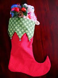 sewing patterns christmas elf stocking sewing pattern 2 styles 2 sizes elf and traditional