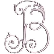monogram letter b helen catherine monogram set classic sewing magazine