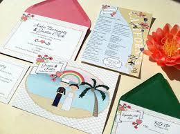 wedding invitations hawaii kawaii hawaii wedding invitations invitation crush