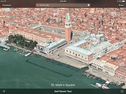 Map Venice Italy by Get Your Vacation On With The Best Of Apple Maps Flyover
