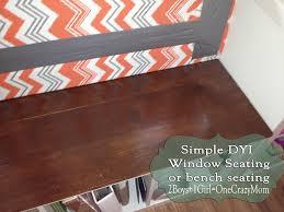 create a window seat diy and make it look like a million bucks
