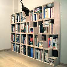 Ideas For Maple Bookcase Design Furniture Interior Staircase White Tone Wall Bookcase On Maple
