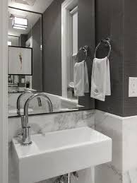 Best Powder Rooms Images On Pinterest Bathroom Ideas Powder - Bathroom sink design ideas