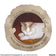 personalized cat gifts personalized sympathy gifts for loss of cat with cat s photo and