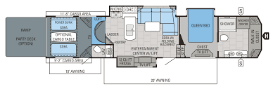 Cyclone Toy Hauler Floor Plans by 2016 Jayco Seismic 4250