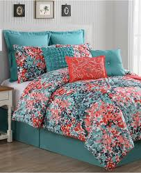 Turquoise And Brown Bedding Sets Bed Linen Awesome Coral Print Bedding Turquoise And Coral Bedding