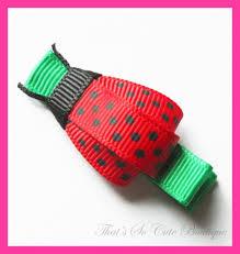 ladybug ribbon ribbon sculptures sequin baby princess ribbon