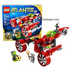 lego atlantis series set 8060 typhoon turbo sub with claw