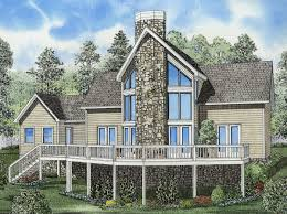 plan 59204nd glorious vacation house plan rock fireplaces