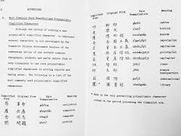 some formerly common poly syllabic hanzi among communist cadres
