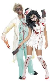 Zombie Costumes Nurse And Doctor Zombies Costumes For Couple