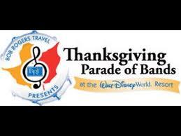 thanksgiving day parade of bands disney world studios