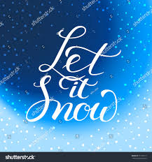 let snow greeting card new stock vector 517503112