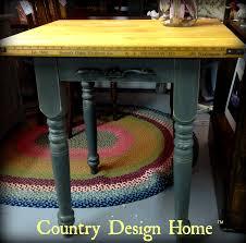 vintage butcher block table u2013 country design home