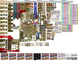 Different Color Schemes Update Absolute Hyrule Map Package Adt Alpha Floor Tiles