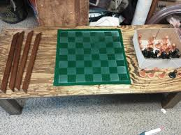 oc chess set coffee table i was told to share album on imgur