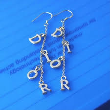 Personalized Name Earrings 44 Best Personalized Jewelry With Your Name On It Images On