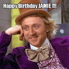 Jamie Meme - meme maker happy birthday jamie