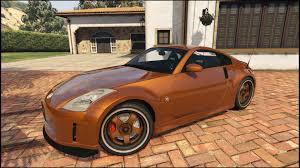 Nissan 350z Orange - nissan 350z clean u0026 with livery gta5 mods com