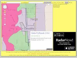 El Paso Zip Code Map by Canutillo Texas Zip Code Boundary Map Tx