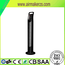 air conditioner tower fan china 45w 100 copper motor tower fan air cooler with remote control