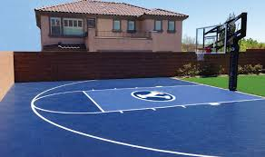Best Backyard Basketball Court by Basketball Court Building Guide Part Two