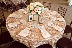 wedding table linens rosette table linens 5 1 2011 wedding weddings