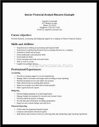 cover letter resume examples for financial analyst resume examples