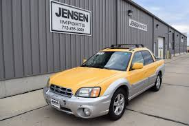 baja subaru yellow subaru baja for sale used cars on buysellsearch