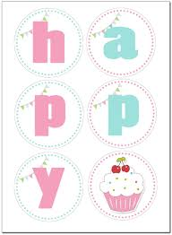 free printable birthday cake banner birthday party girls banner google keresés printables