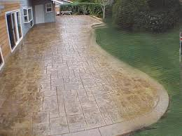 Cost Of Stamped Concrete Patio by Stamped Concrete Patio Concrete Patio Designs For Warm Look