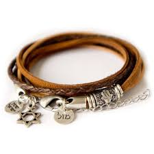 wrap bracelet with charms images 72 best hebrew charm bracelets images charm jpg