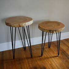 How To Make End Tables by Best 25 Diy End Tables Ideas On Pinterest Pallet End Tables