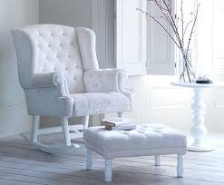 Padded Rocking Chairs For Nursery Articles With Upholstered Rocking Chair For Nursery Australia Tag