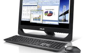 ordinateur de bureau tout en un asus asus all in one pc et2013iuti b003e noir pc de bureau asus sur
