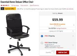 Kmart Desk Chair by Deluxe Office Chair Or Corner Tv Stand Only 7 50 At Kmart The