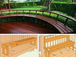 Patio Seating Ideas 15 Types Of Built In Deck Seating Ideas