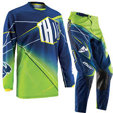 blue motocross gear thor phase 2015 prism navy motocross enduro mx quad dirt bike