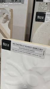 roca piastrelle roca piastrelle branco 30x90 materiais