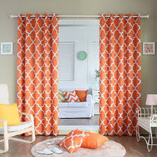 Bed Bath Beyond Sheer Curtains Endearing Burnt Orange Sheer Curtains And Bed Bath And Beyond