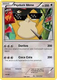 Psyduck Meme - pok礬mon psyduck meme 1 1 doritos my pokemon card