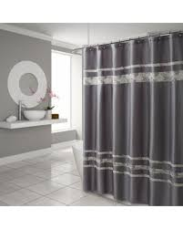 Spa Shower Curtain Big Deal On Croscill Spa Tile 70 X 75 Shower Curtain In Grey