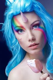 unicorn makeup tutorial halloween ideas pinterest unicorn