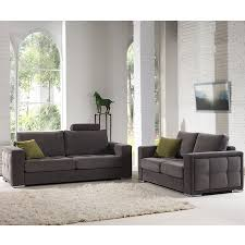 canapé 3 2 tissu salon canapé 3 2 places gris tissu sofamobili